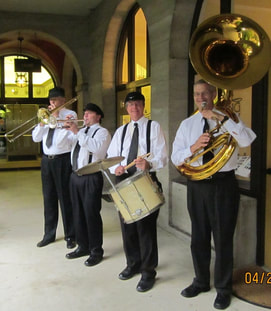 Second Line Band Orlando, Trade Show entertainment